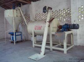 十堰腻子粉搅拌机混合全套设备1吨2吨十堰干粉砂浆搅拌机