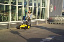 陕西西安保洁驾驶式电动扫地机