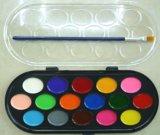 16色半乾水彩顏料