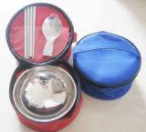 富邦环保布包碗勺筷餐具套装