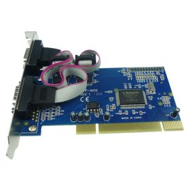 2口PCI转RS232高速串口扩展卡