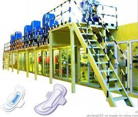 护翼卫生巾生产线