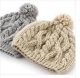 经典手工冬季帽子 毛线帽 女士针织帽女士秋冬天帽子韩国针织帽