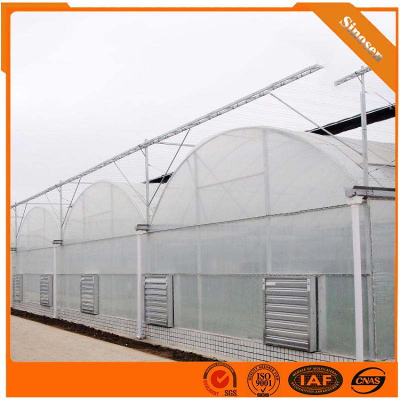 连栋薄膜温室  连栋温室大棚 蔬菜温室大棚
