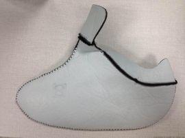 加工防水鞋套 防水鞋套压胶加工
