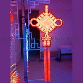 河南开封中国结灯 福字led灯光 中国结 红色 中国结灯笼生产厂