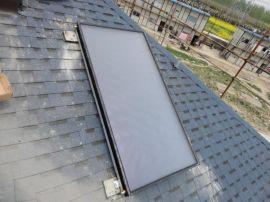 300L平板太阳能承压热水系统