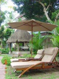 供应户外实木家具沙滩椅休闲沙滩椅躺床