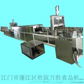 手指饼涂巧克力机价格_江门万胜食品机械厂