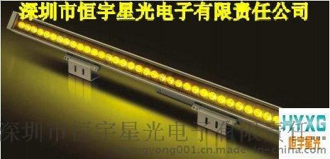 LED黃色洗牆燈LED紅色洗牆燈LED綠色洗牆燈,LED藍色洗牆燈,LED線條投光燈LED線條泛光燈LED線條燈