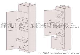 铁皮置物柜、零件柜、(鑫日东)厂家定做