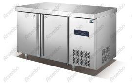 广东128L2F豪华工作台,雅绅宝厨房工作台,不锈钢厨房柜