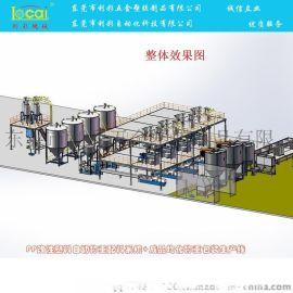 自动配料生产线_塑料造粒自动配料生产线-利彩机械