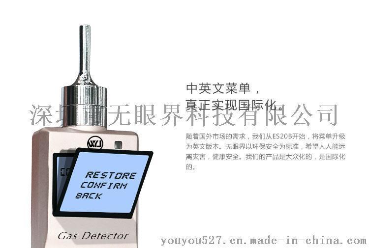 便携式氢气气体检测仪