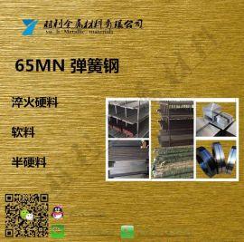 现货供应德国耐腐蚀CK65发蓝半全硬弹簧钢带耐磨零件专用弹簧钢板