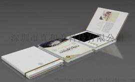 供應高檔精美7寸硬紙板視頻賀卡,LCD電子賀卡,可按照客戶需求定制