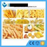 空心薯条生产线/单螺杆油炸设备