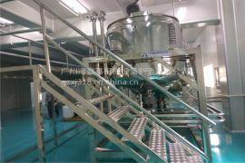 洗手液设备 洗手液均质加热反应罐 不锈钢液体搅拌罐 工厂直销