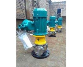 河北泊头艾克泵业立式不锈钢圆弧齿轮泵占地小效率高