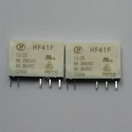 宏发继电器HF41F/005-ZS 6A 5脚 一组转换