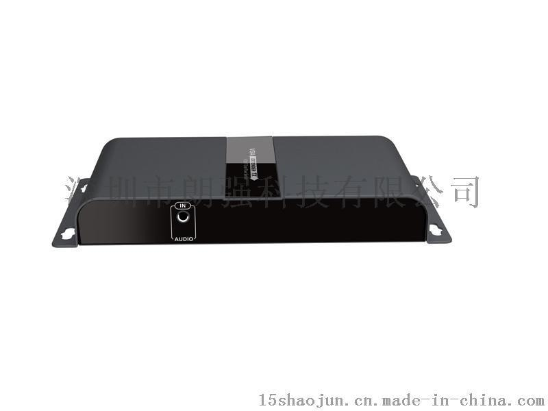 VGA光纤延长器 VGA音视频光纤传输器单模sc LCN6378VGA