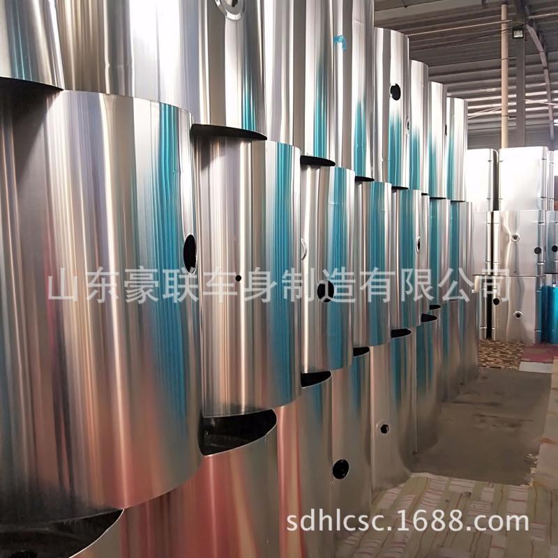 鋁合金油箱廠家800升J6卡車鋁合金油箱鋁合金油箱廠家價格圖片