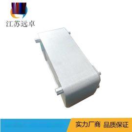 江蘇遠卓 ZL95BR-48D反滲透設備用衛生級不鏽鋼熔焊換熱器
