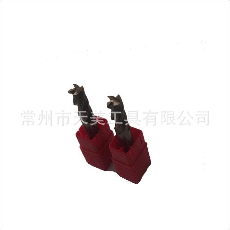 天美供应 HRC55°钨钢平底铣刀 非标定制