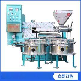 纯净花生油榨油机 芝麻香油榨油机小型粮油作坊设备 可定制