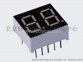 0.36英寸双二2位led数码管红光北京天津河北数字面板显示SMA3621AH/BH