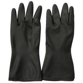 RIH-4 轻便灵巧多行业适用 黑色双层防滑工业乳胶劳保手套