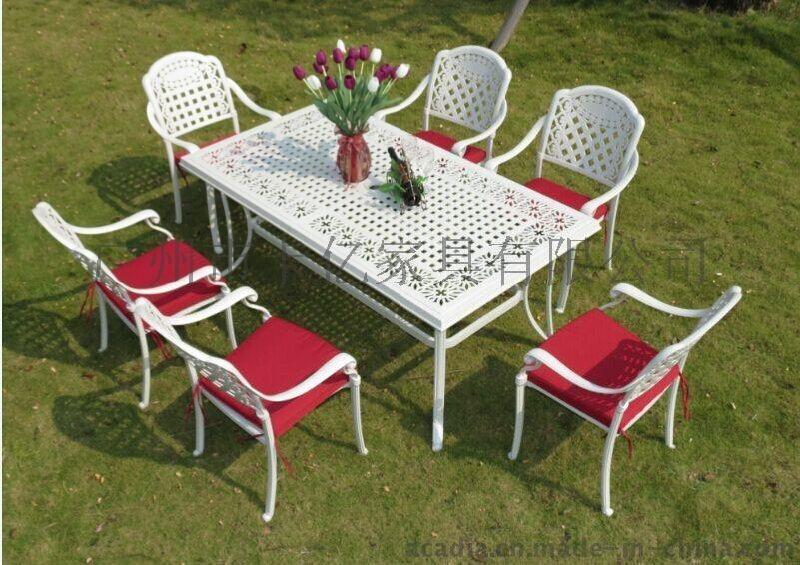 鑄鋁餐桌椅/戶外休閒桌椅/花園傢俱(ALT-7289)