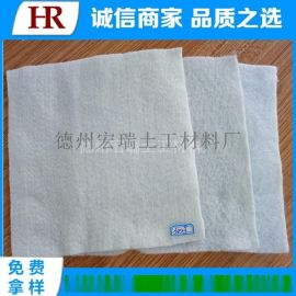 100-800g国标短纤针刺无纺土工布价格