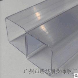 专业生产PVC异型材 环保PVC塑料型材 异型材 PVC挤出加工 推荐