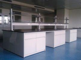 诚誉全钢实验台 全钢材质 实芯理化板台面