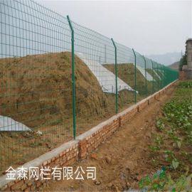 圈地专用护栏网,双边丝铁丝护栏网,金森果园防护网