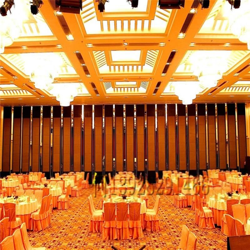 高优餐厅隔音折叠推拉隔断屏风厂家