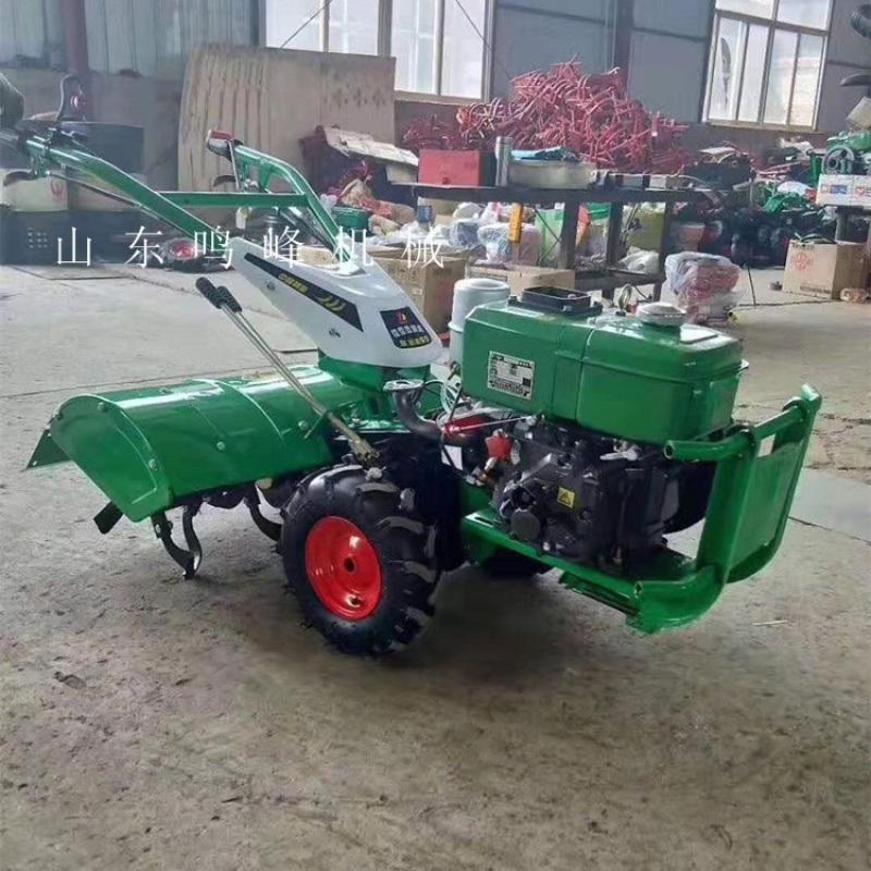 果園旋耕開溝小型微耕機, 開溝培土微耕機