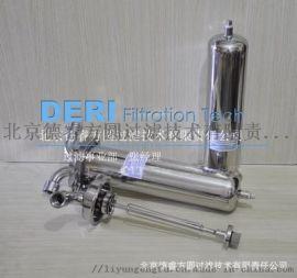 北京不锈钢单芯过滤器接双开口滤芯,熔喷折叠滤芯