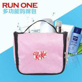 韩版防水化妆包 可爱粉色洗漱包 旅行用品整理收纳袋 厂家批发OEM