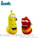 韓國larva毛絨玩具公仔正版爆笑蟲子9寸公仔玩偶廠家代理現貨批發