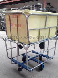 虎門方形桶染織裝布車,服裝廠用漂染承布車,家紡布料染色車