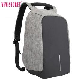 新款牛津布双肩包男创意时尚电脑背包usb充电休闲防盗背包