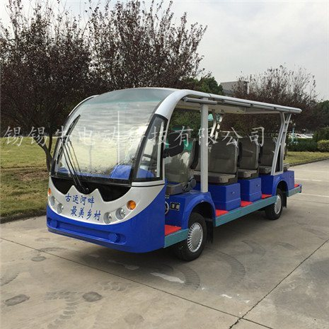 12座14座电动旅游观光车售价,电瓶游览观光车厂家