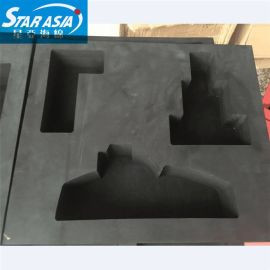 定做EVA海绵热压托盘 EVA泡绵异形无毛边包装内托