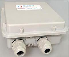 室外双口工业防水防雷路由器带GPS,双天线,自动拨号及看门狗等功能