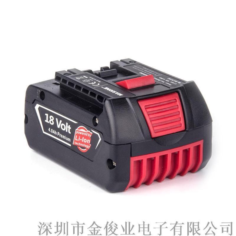 策马特替代博世18V电机冲击钻全新工具原装锂电池