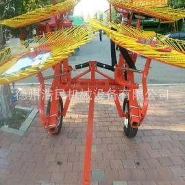 指盤式摟草機 割草機牧草機械 牽引式摟草機浩民機
