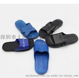 车间专用防防静电净化鞋拖鞋,男女通用无尘防静电泡沫拖鞋厂家