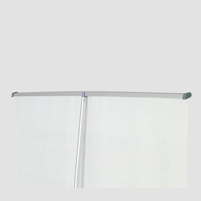80*200cm豪华宽屏塑钢易拉宝广告展架